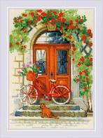 """Набор для вышивания крестом """"Дверь в Италию"""""""