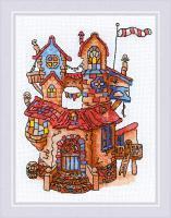 """Набор для вышивания крестом """"Сказочный домик"""""""