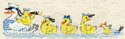 """Набор для вышивания крестом """"По морям, по волнам"""""""