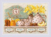 """Набор для вышивания крестом """"Tea Time"""""""