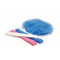 Шапка шарлотка  голубая 100 шт., фото 3