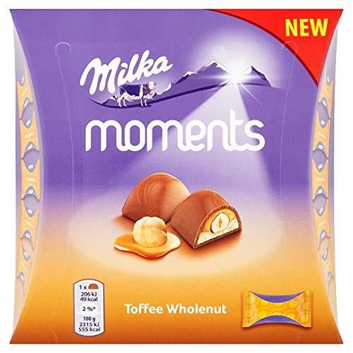 Конфеты Milka Moments Toffe 97гр (16шт-упак)