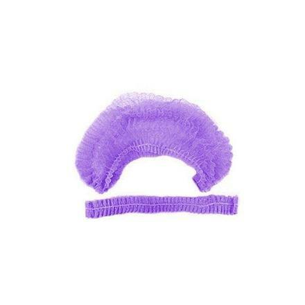 Шапка шарлотка  фиолетовая 100 шт.