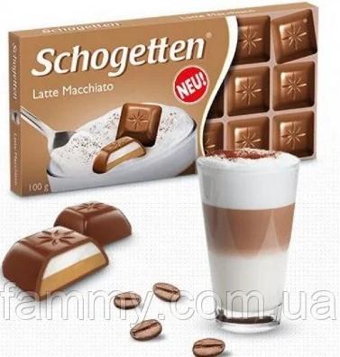 Шоколад Schogetten Latte Mocchiato 100гр (15 шт. в упаковке)