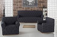 """Набор чехлов для дивана """"KARNA"""" MILANO 3+1+1, фото 4"""