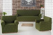 """Набор чехлов для дивана """"KARNA"""" MILANO 3+1+1, фото 5"""