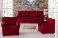 """Набор чехлов для дивана """"KARNA"""" MILANO 3+1+1, фото 6"""