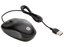 HP G1K28AA Мышь проводная портативная  USB