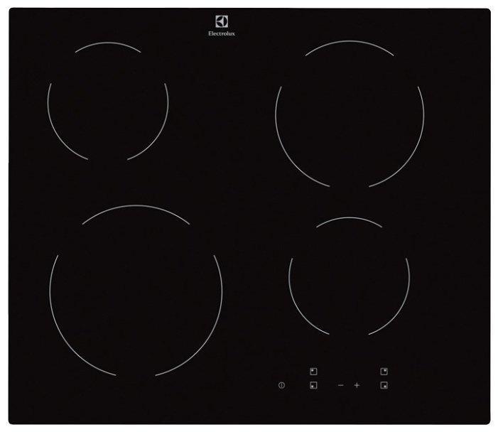 Встраиваемая варочная поверхность Electrolux EHV 56240 AK black