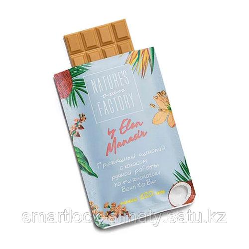 Nature's Own Factory Гречишный шоколад ручной работы с кокосом 20 гр