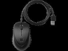HP 4TS44AA Мышь проводная USB со считывателем отпечатков пальцев
