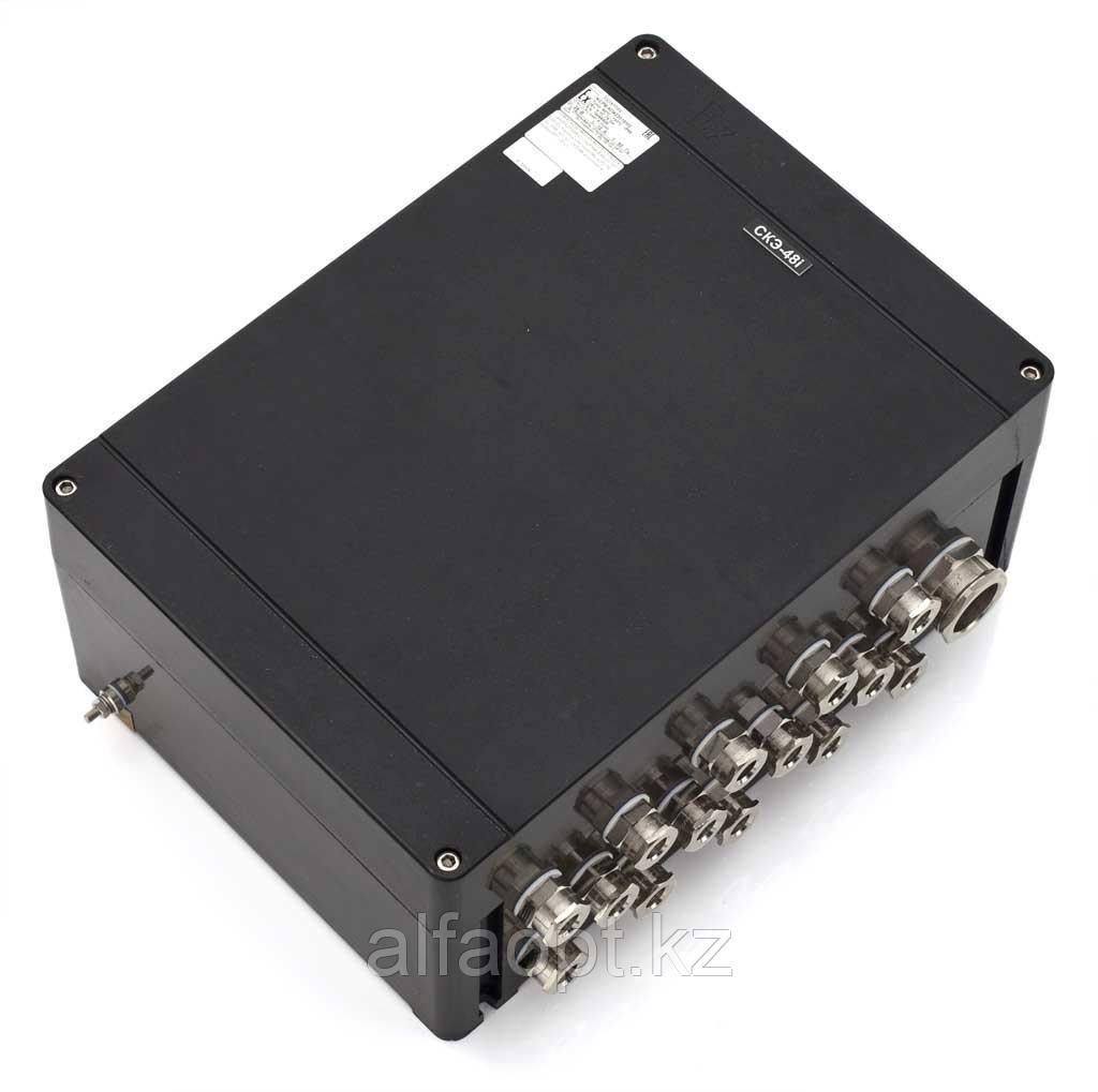Взрывозащищенная коробка соединительная КСРВ-П423019 (SA/P) из армированного полиэстера