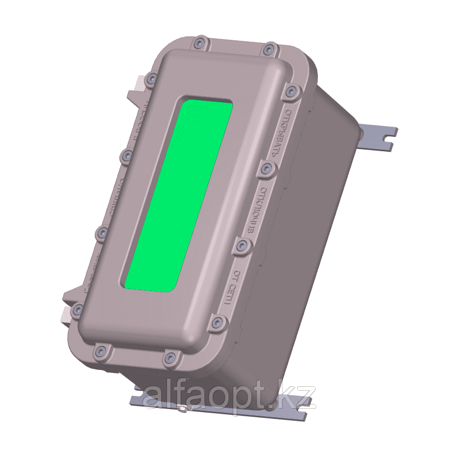 Взрывозащищенная коробка ЩОРВ422221-О2508 с окном (взрывонепроницаемая оболочка)