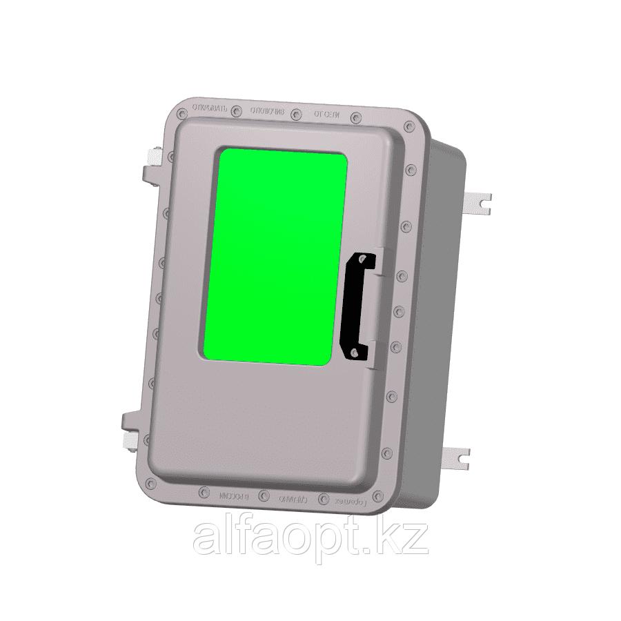 Взрывозащищенная коробка ЩОРВ573931-О3020 с окном (взрывонепроницаемая оболочка)