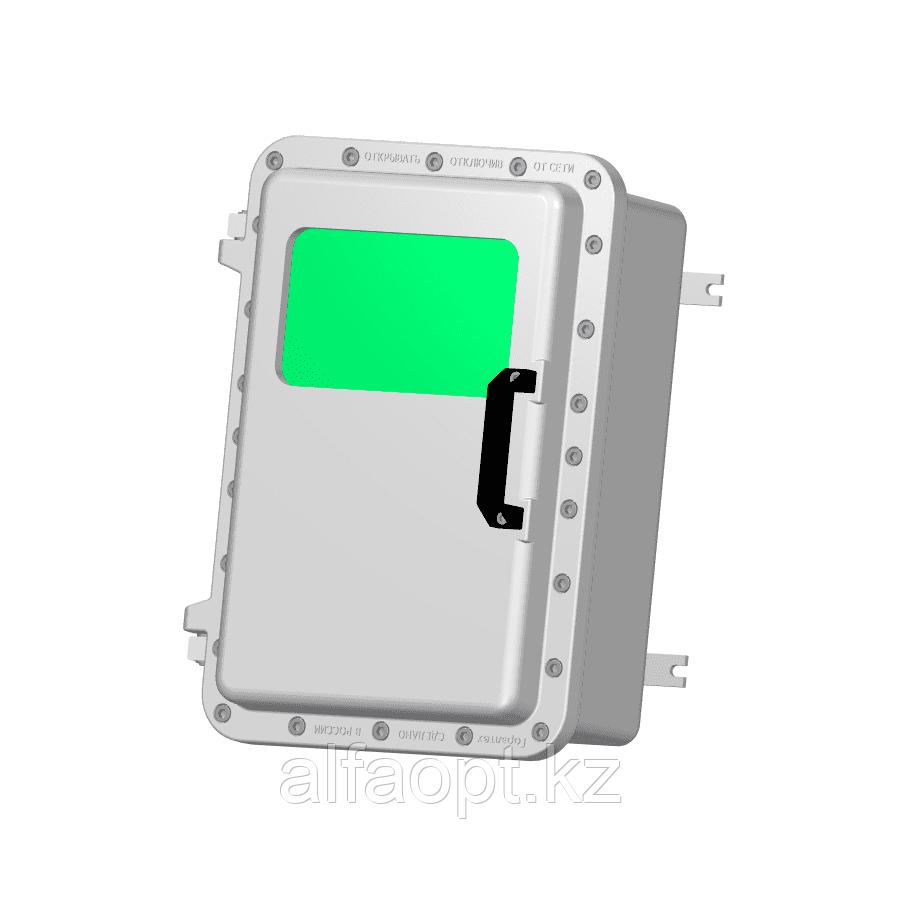 Взрывозащищенная коробка ЩОРВ573926-О1525 с окном (взрывонепроницаемая оболочка)