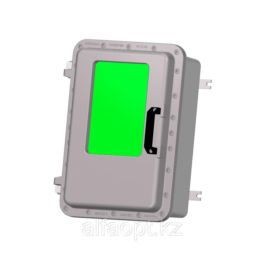 Взрывозащищенная коробка ЩОРВ573926-О3020 с окном (взрывонепроницаемая оболочка)