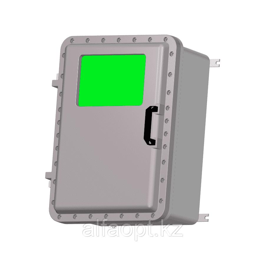 Взрывозащищенная коробка ЩОРВ725235-О3020 с окном (взрывонепроницаемая оболочка)