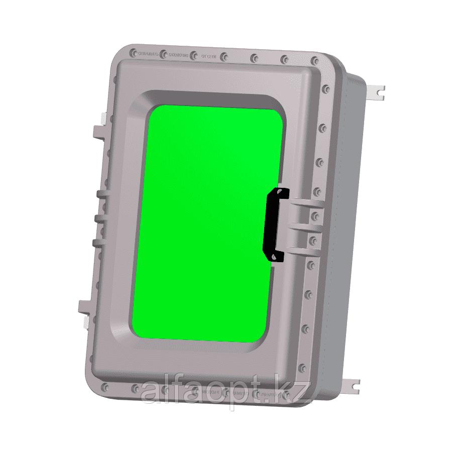 Взрывозащищенная коробка ЩОРВ725224-О3247 с окном (взрывонепроницаемая оболочка)
