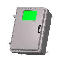 Взрывозащищенная коробка ЩОРВ896735-О3020 с окном (взрывонепроницаемая оболочка)