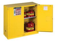 Sure-Grip® EX Countertop Flammable Safety Cabinet, 30 gallon, 2 self-close door./ Шкафы для хранения ЛВЖ