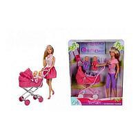 Кукла Simba Штеффи с коляской