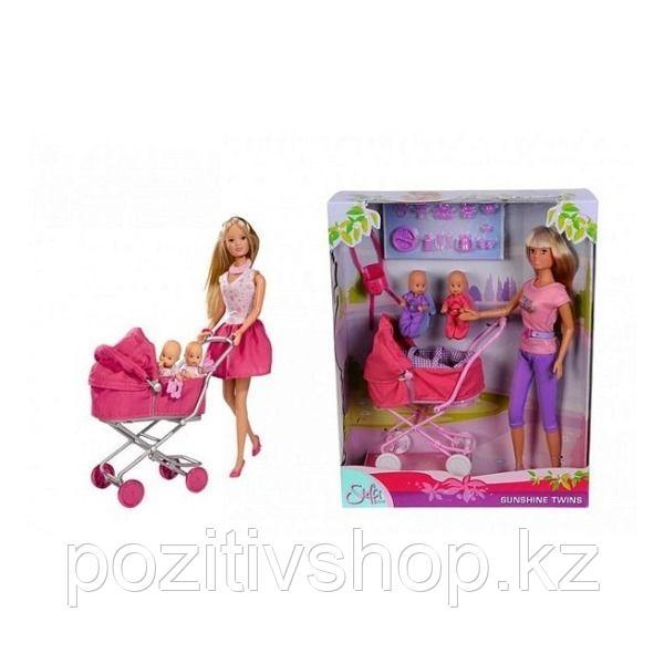 Кукла Simba Штеффи с коляской - фото 1