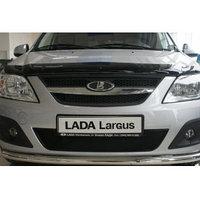 Защитная сетка/решетка радиатора для LADA Largus/Лада Ларгус, фото 1