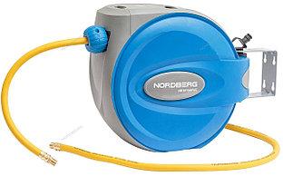 NORDBERG ШЛАНГ HR1015HPVC воздушный на катушке гибридный PVC Ø9,5х15,5мм, 15+1м