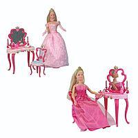 Кукла Simba Штеффи принцесса + столик