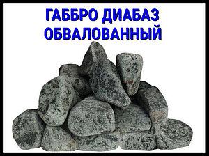 Габбро диабаз Обвалованный для печи в русскую баню
