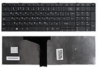 Клавиатура для ноутбука Toshiba Satellite C55, C55D (черная, RU)