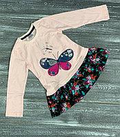 Платье -туничка с бабочкой