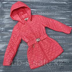 Куртка алая chanel