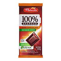 """Победа Вкуса Темный Шоколад Без сахара 57% Какао """"Чаржед"""" 100 гр"""