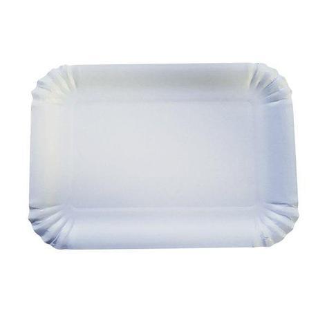 Тарелка 170х240мм, белая, картон, 600 шт, фото 2