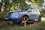 Накладки на колёсные арки Renault Duster, фото 2