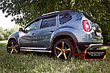Накладки на колёсные арки Renault Duster, фото 3