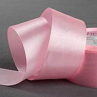 Лента атласная, 40 мм × 23 ± 1 м, цвет розовый №04