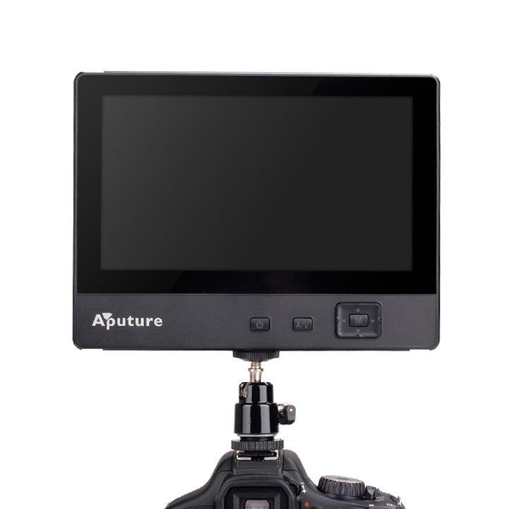 7''/ Монитор APUTUR для операторского крана /HDMI, AV,YPbPr/ APATURE V1+ Аккумулятор и зарядное уст.