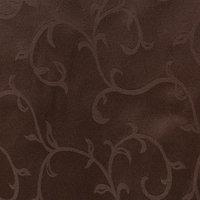 Ткань для столового белья с ГМО 'Вензель', ширина 155 см, длина 10 м, цвет шоколад