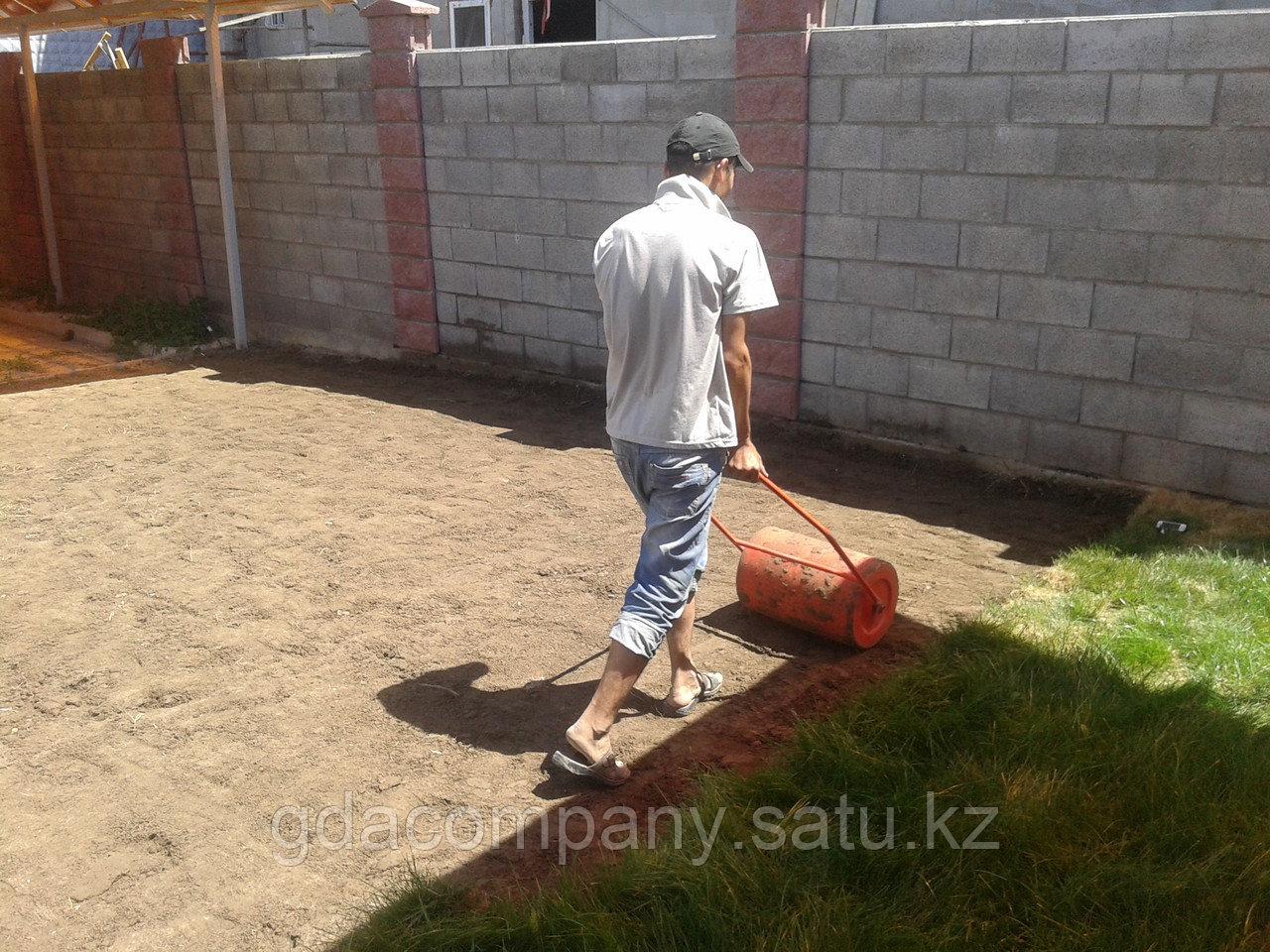 Реализация газона на территории офиса - быстро и качественно!