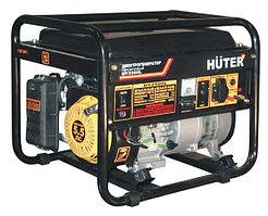 Портативный бензогенератор HUTER DY2500L (2 кВт) ручной стартер