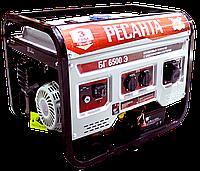 Электрогенератор БГ 6500 Э Ресанта (5 кВт) электростартер