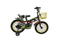 Велосипед Phillips зеленый алюминиевый сплав оригинал детский с холостым ходом 16 размер