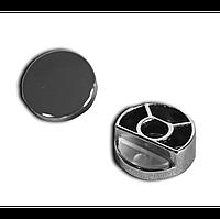 Заглушки угловые в комплекте с резьбой для табличек 22мм  Е11