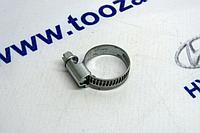 Хомут червячный для шлангов NORMA 16-27mm (с гладкой внутренней поверхностью)