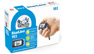 Автосигнализация StarLine MOTO V63