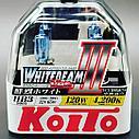 Галогеновые лампы HB3/9005 Koito WhiteBeam III 4200K, фото 2