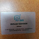 Визитки пластиковые, в Алматы, для компаний, фото 5