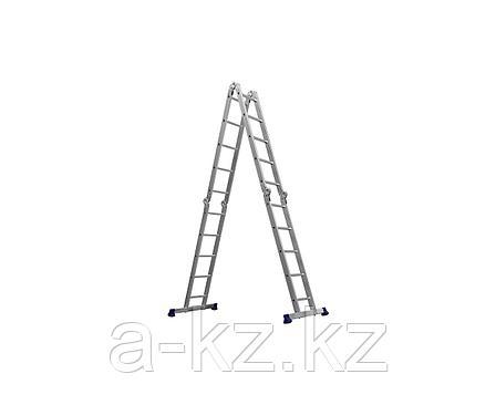 СИБИН ЛТ-45 лестница-трансформер, 4x5 ступеней, алюминиевая., фото 2